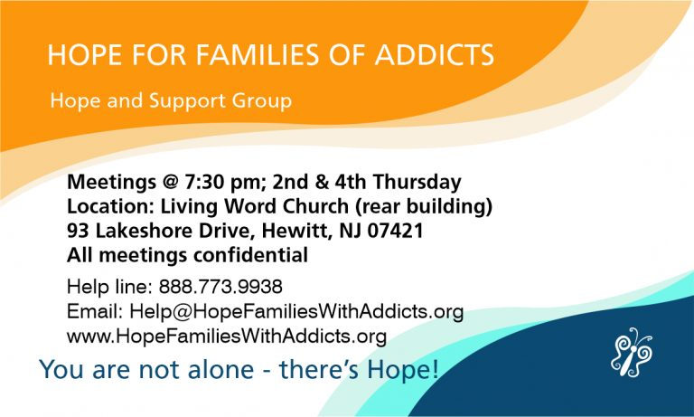 Hope Support Group Business Cards -A -3
